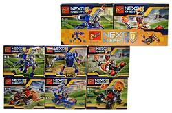 Набор  конструкторов 111 Nexo Knights (6 шт.).