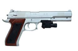 Пистолет с лазером P168+.