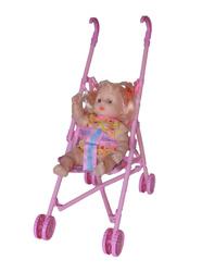 Кукла с коляской 245 в пакете.