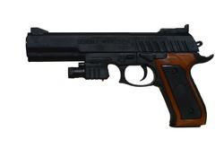 Пистолет с лазером P298+.