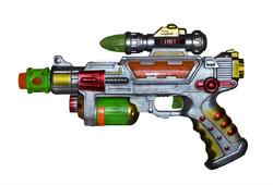 Пистолет на батарейках 310.