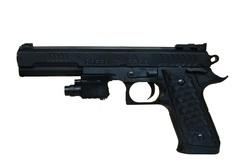 Пистолет с лазером P398+.
