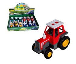 Трактор металлический 6811-4.