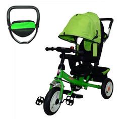 Велосипед трехколесный зеленый JD-86(надув).