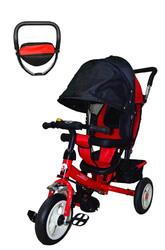 Велосипед трехколесный JD-86 красный(надув.).