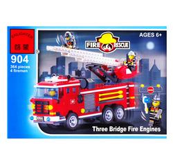 Конструктор  904 Пожарная серия.