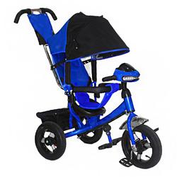 Велосипед трехколесный с  фарой MF289692 синий