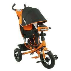 Велосипед трехколесный с фарой MF289692 оранжевый