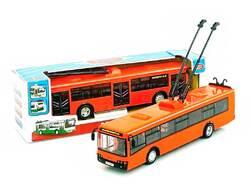 Машина инерционная троллейбус 9690В