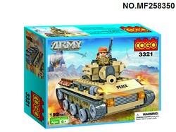 """Конструктор 3321 """"Танк""""."""