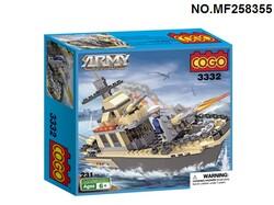 """Конструктор """"Военный корабль"""" 3332."""