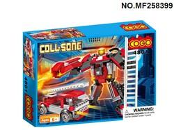 """Конструктор 4801 """"Пожарная машина и робот""""."""