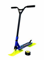 Трюковой самокат 2 в 1(лыжи+колеса)синий
