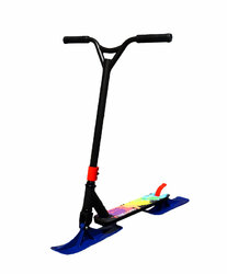 Трюковой самокаты 2 в 1(лыжи+колеса)чёрный
