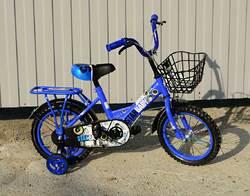 "Детский велосипед Star Baby 12"" синий."