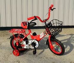 """Детский велосипед Star Baby 12"""" красный."""