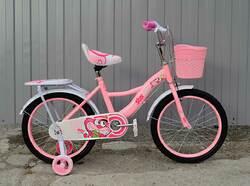 """Детский велосипед Star Baby 18"""" розовый."""