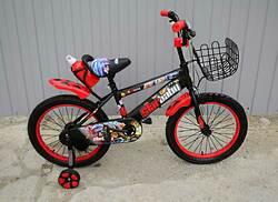 """Велосипед Star Baby 18"""" с бутылочкой красный."""