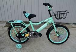 "Велосипед Star Baby 18"" светло-зелёный."