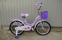 """Велосипед Star Baby фиолетовый 20""""."""